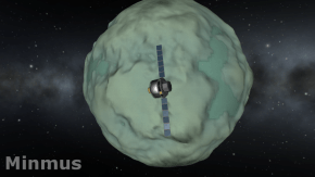 Outer moon of Kerbin